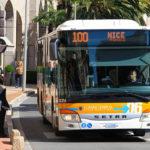 Автобусное сообщение на Лазурном берегу